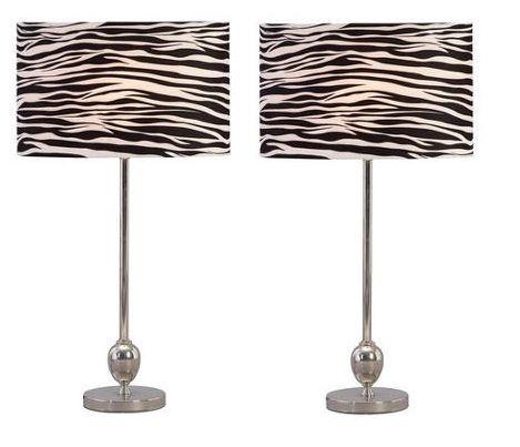Aspire Zebra Table Lamp