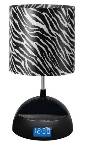 Ligh Tunes Bluetooth Speaker Lamp with Alarm Clock