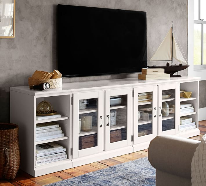 7 white tv stands for your living room cute furniture White tv console