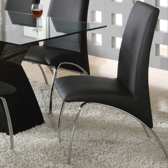 Modern Black Dining Chair