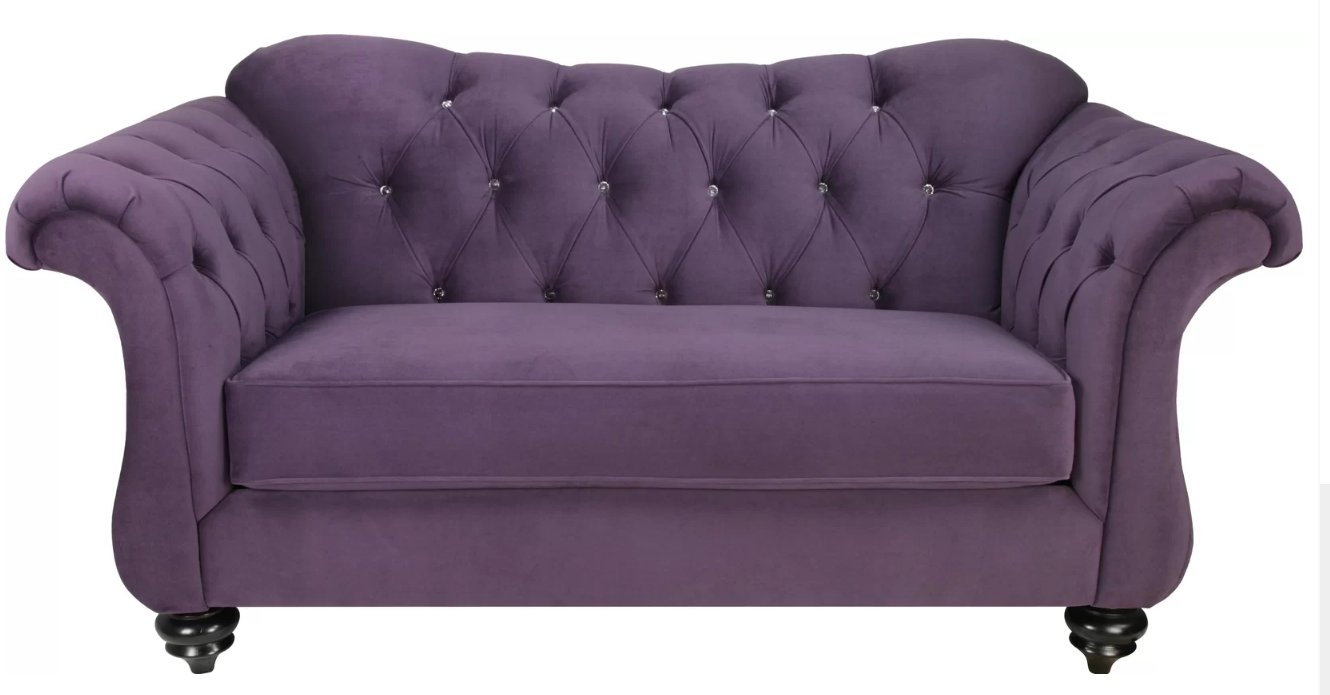 Astounding 7 Beautiful Purple Sofas For Your Living Room Cute Furniture Ibusinesslaw Wood Chair Design Ideas Ibusinesslaworg