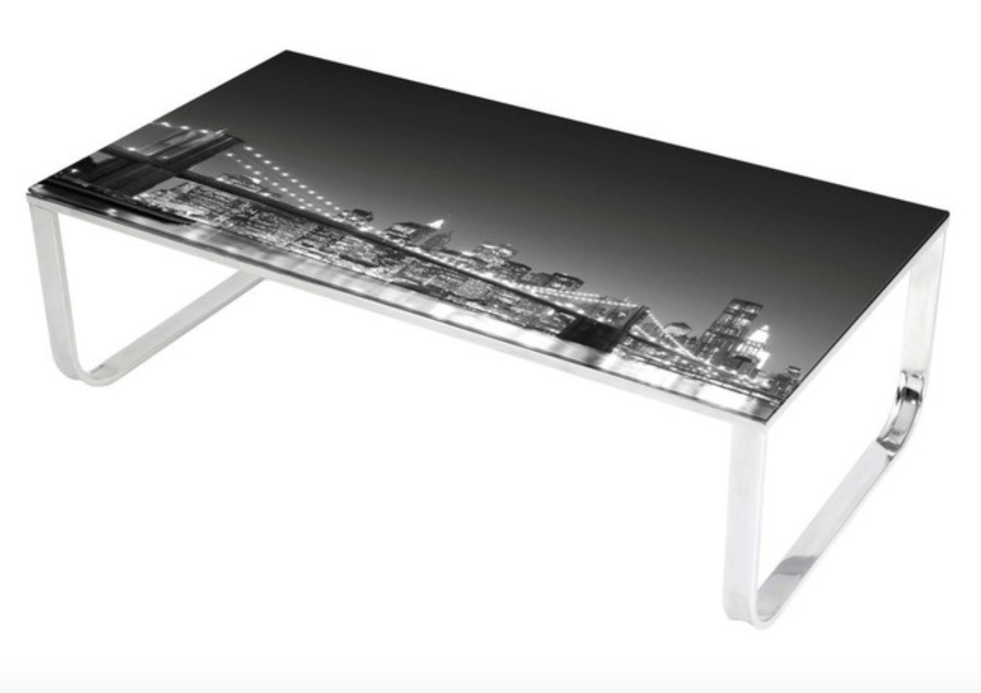 brooklyn-bridge-night-skyline-view-glass-coffee-table