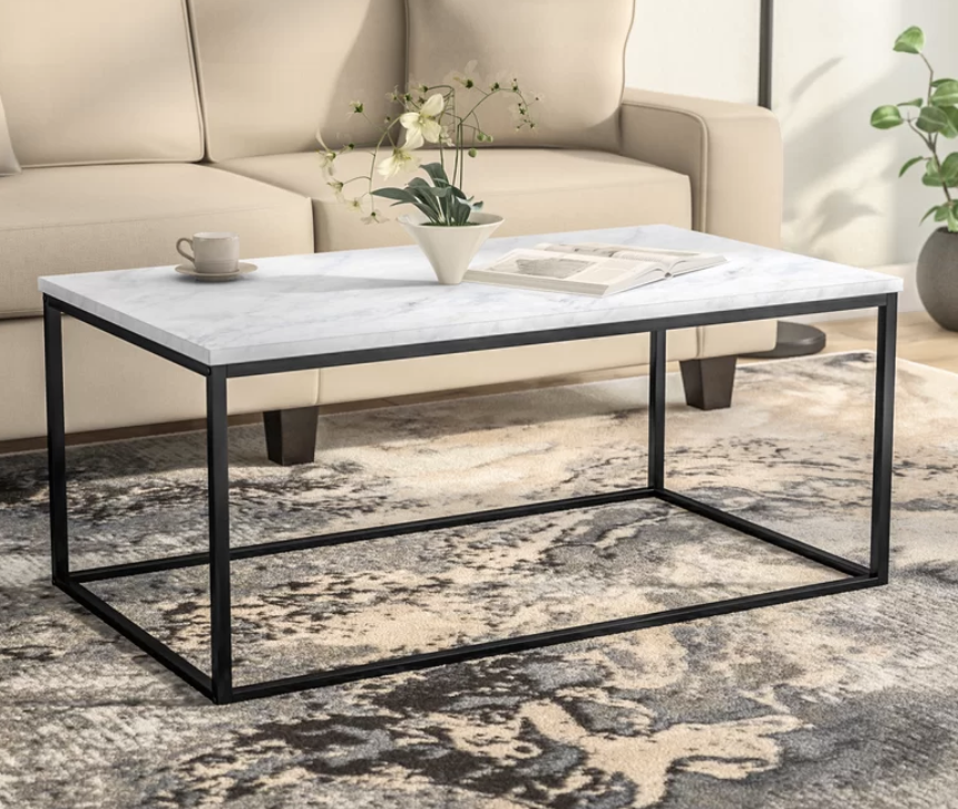 Miraculous 7 Black And White Coffee Tables For A Modern Living Room Short Links Chair Design For Home Short Linksinfo