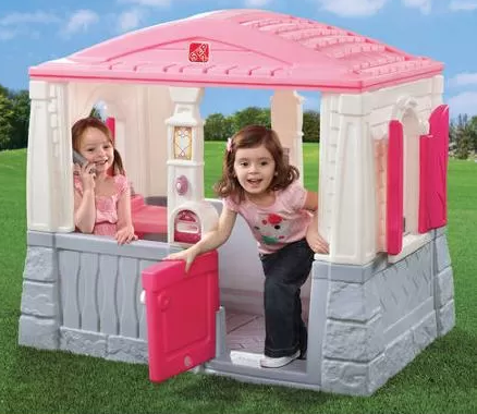 Pink Cottage Playhouse for girls