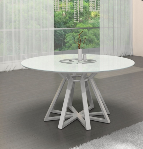 7 White Round Modern Dining Tables - Cute Furniture