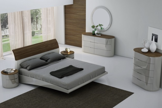 6 Stylish And Contemporary Gray Bedroom Sets Cute Furniture