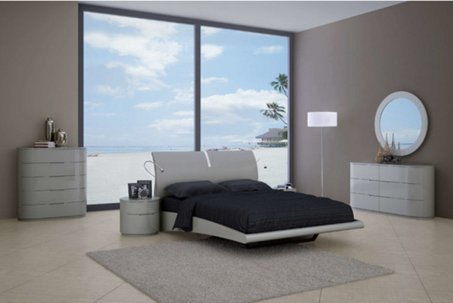 gray modern bedroom 6 contemporary gray bedroom sets 11726