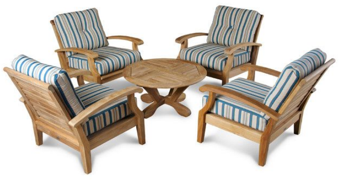 douglas-nance-cayman-4-seat-group-transitional-outdoor-lounge-sets
