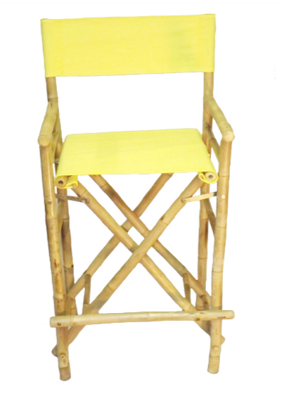 bamboo-yellow-bar-stool