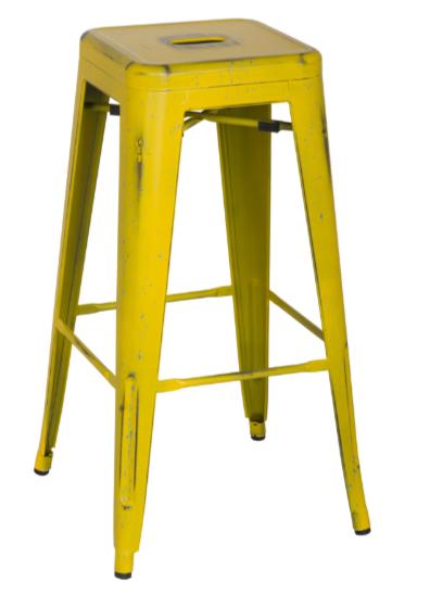 industrial-metal-yellow-bar-stool