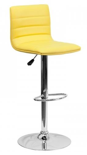 modern-yellow-bar-stool