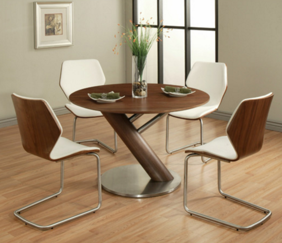7 Modern Round 5 Piece Dining Sets