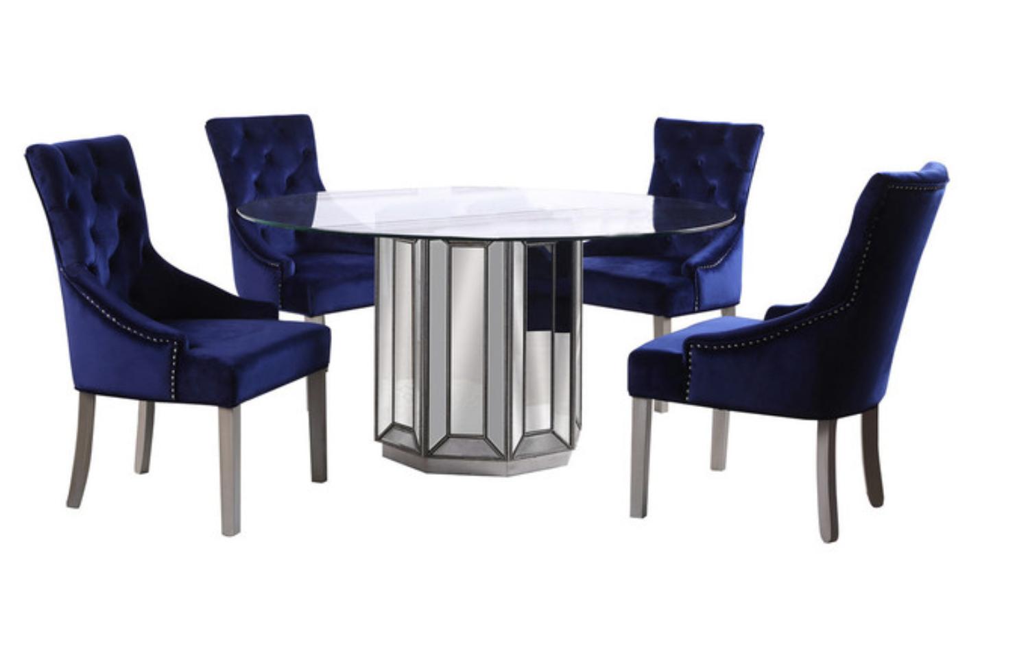 marston-5-piece-round-glass-dining-set