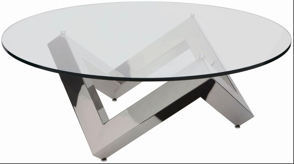 polished-steel-coffee-table