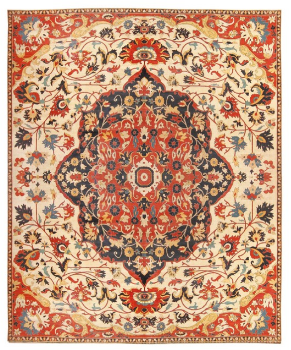 consigned-antique-persian-sarouk-farahan-carpet
