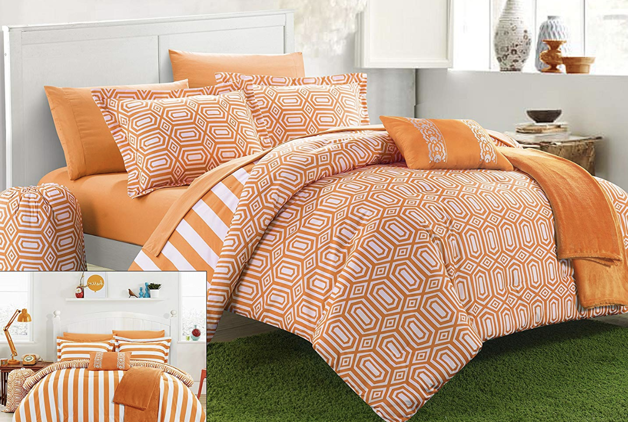 chic-home-8-piece-paris-reversible-geometric