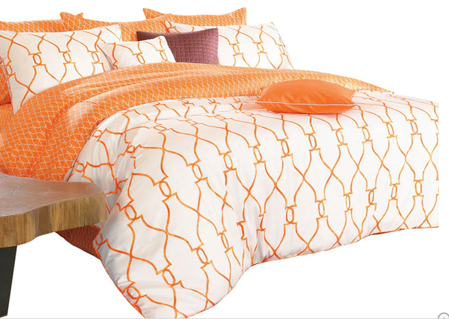 reversible-sateen-orange-and-white-duvet-cover-set