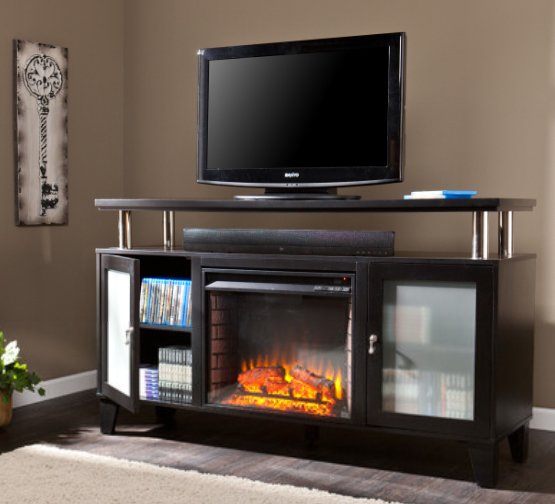 living room tv stand ideas 6 stylish tv stands with electric fireplace furniture 19519