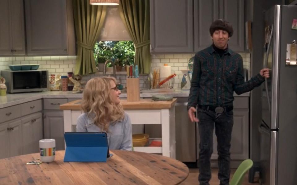 Big Bang Theory Howard S Kitchen