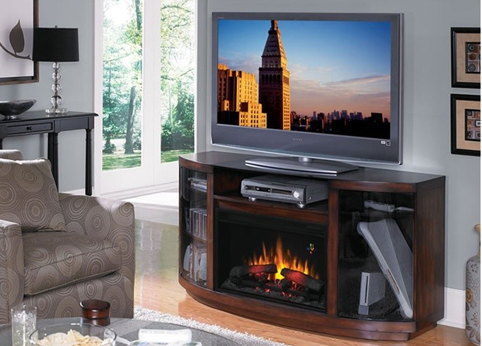 6 Stylish TV Stands With Electric Fireplace Cute Furniture