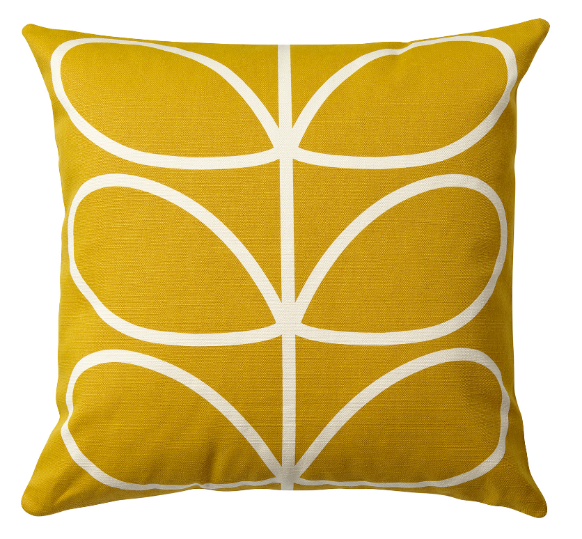 sunflower-orla-kiely-decorative-pillow