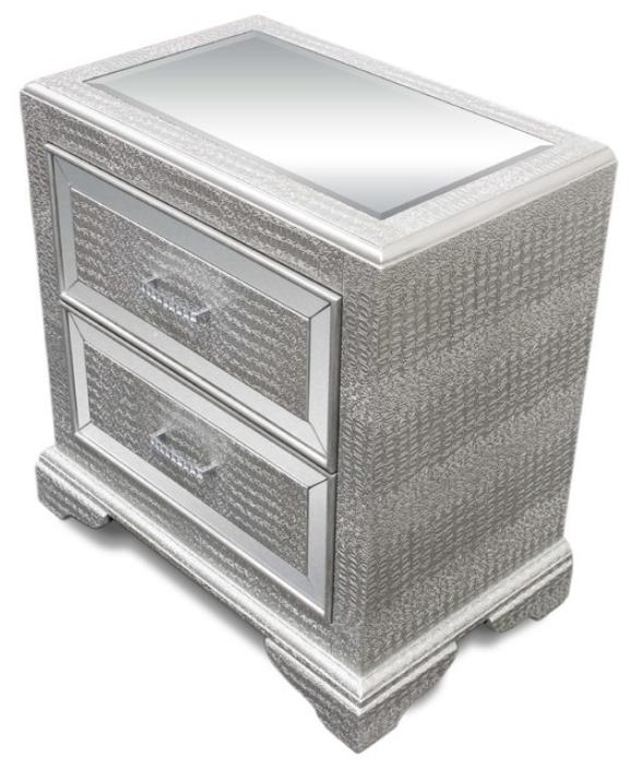 furniture-import-export-inc-tuxedo-mirrored-nightstand