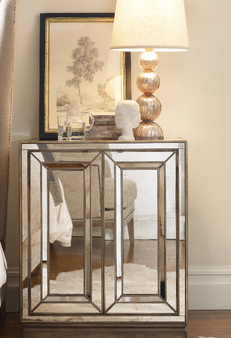 8 Mirrored Nightstands For Your Bedroom Cute Furniture