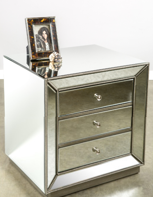 8 mirrored nightstands for your bedroom - cute furniture Cute Night Stands