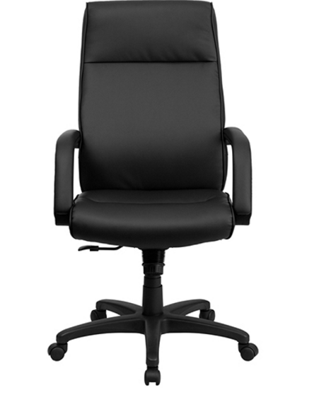 stylish desk chairs 8 stylish black leather high back executive chairs 26920
