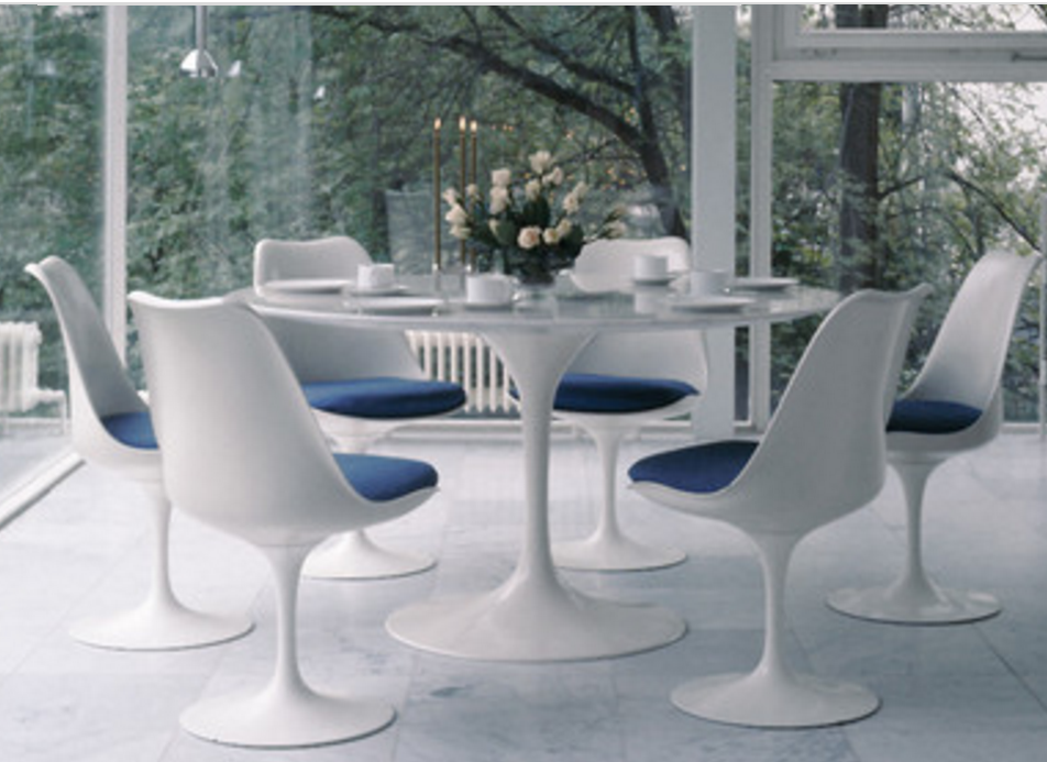 6 Tulip Tables For A Mid Century Modern Dining Room Cute