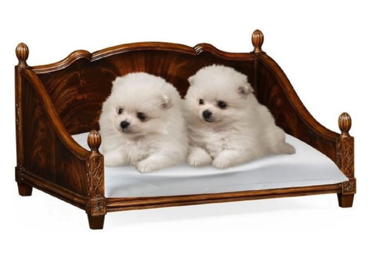rectangular-4-poster-mahogany-dog-bed
