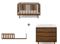 ubabub-nifty-timber-crib-dresser-combo