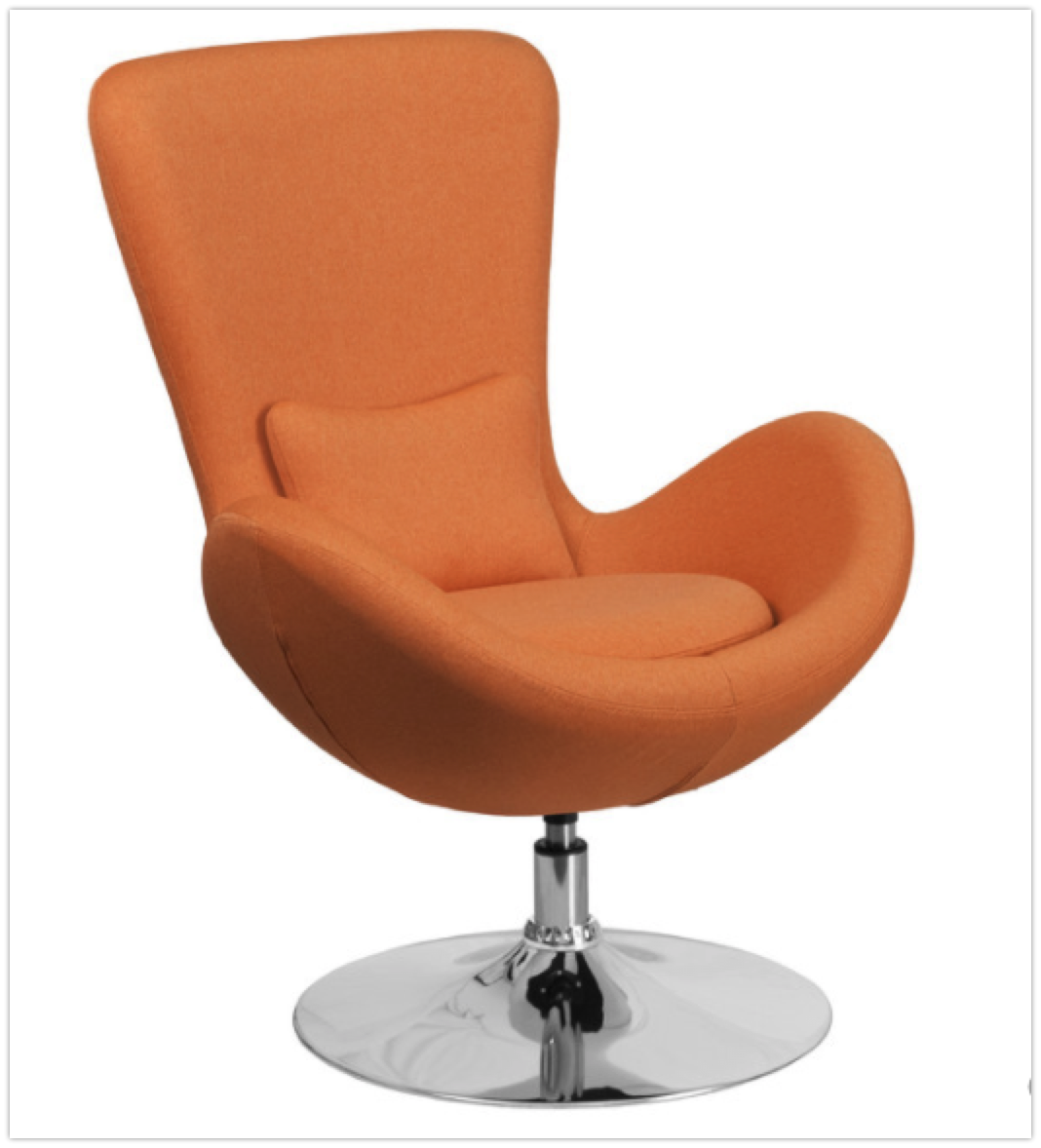 Terrific Top 7 Orange Lounge Swivel Chairs In 2019 Lamtechconsult Wood Chair Design Ideas Lamtechconsultcom
