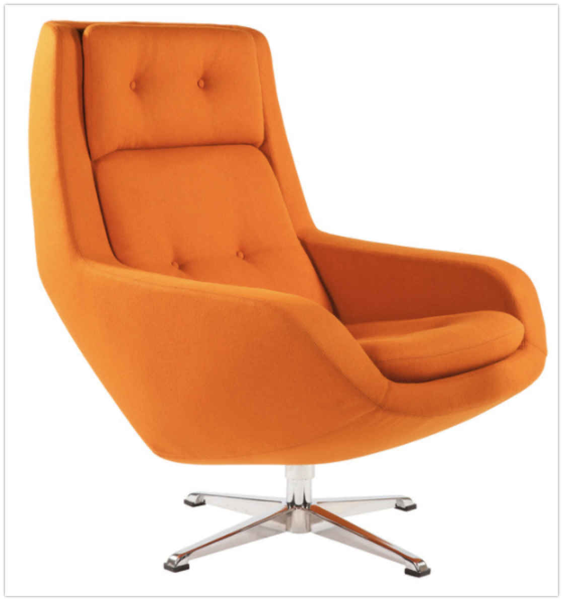 Amazing Top 7 Orange Lounge Swivel Chairs In 2019 Lamtechconsult Wood Chair Design Ideas Lamtechconsultcom
