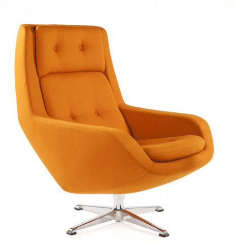 upholstered office chair with 7 Orange Lounge Swivel Chairs For A Modern Home on High End Workplace Chairs additionally Capri Wood besides Knoll Jehs Laub Wire Lounge Chair And Ottoman moreover Stylish Office Chairs Contemporary And Cool in addition Austin Arhaus c1318617.