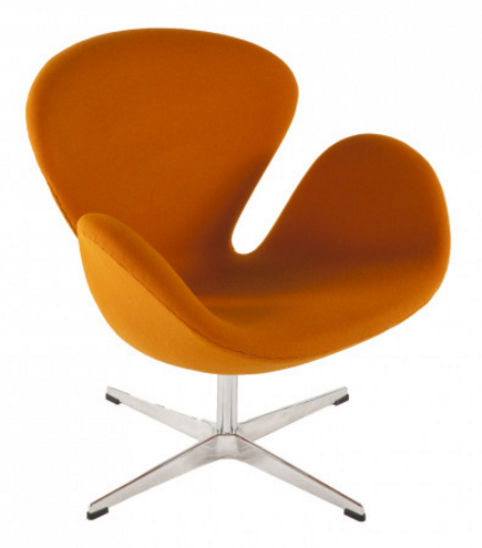 Top 7 orange lounge swivel chairs in 2017 for Mid century modern reproduction