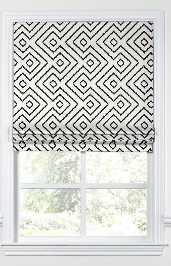 loom-decor-maze-diamond-flat-roman-shade