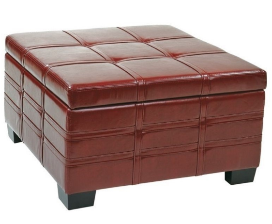 ottoman-with-tray-in-crimson-red-leather