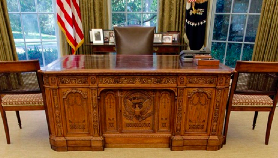 The Resolute Desk Oval Office