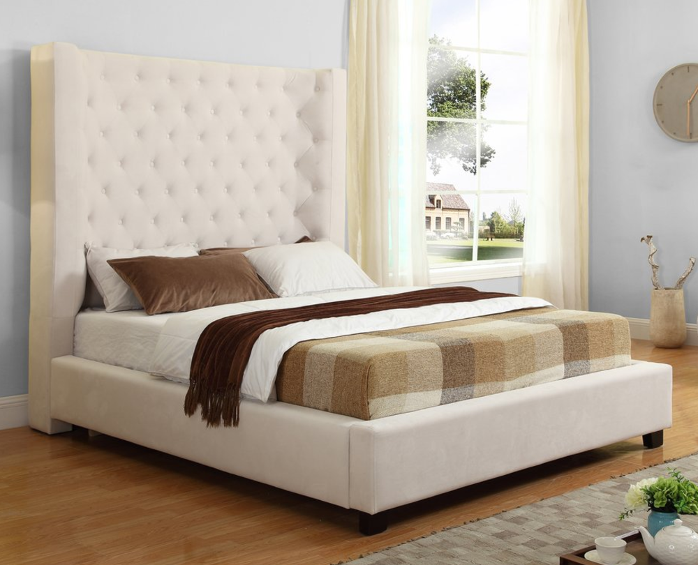 upholstered bedroom sets top 8 beige upholstered panel beds furniture 13698
