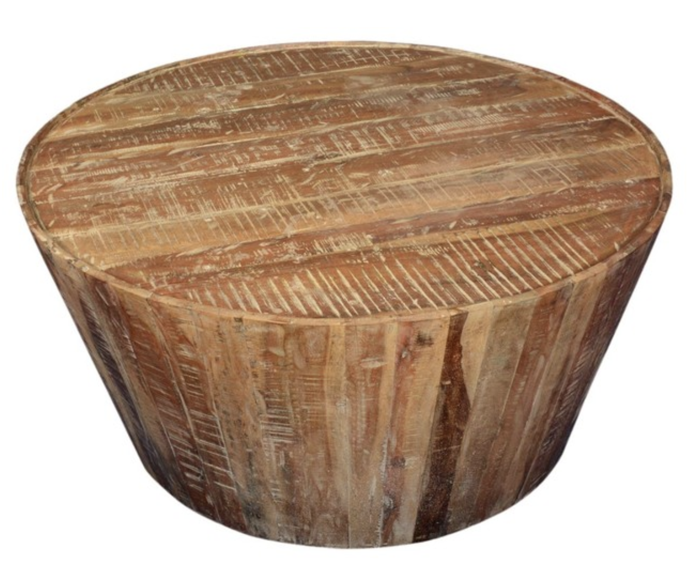 rustic-reclaimed-wood-round-coffee-table