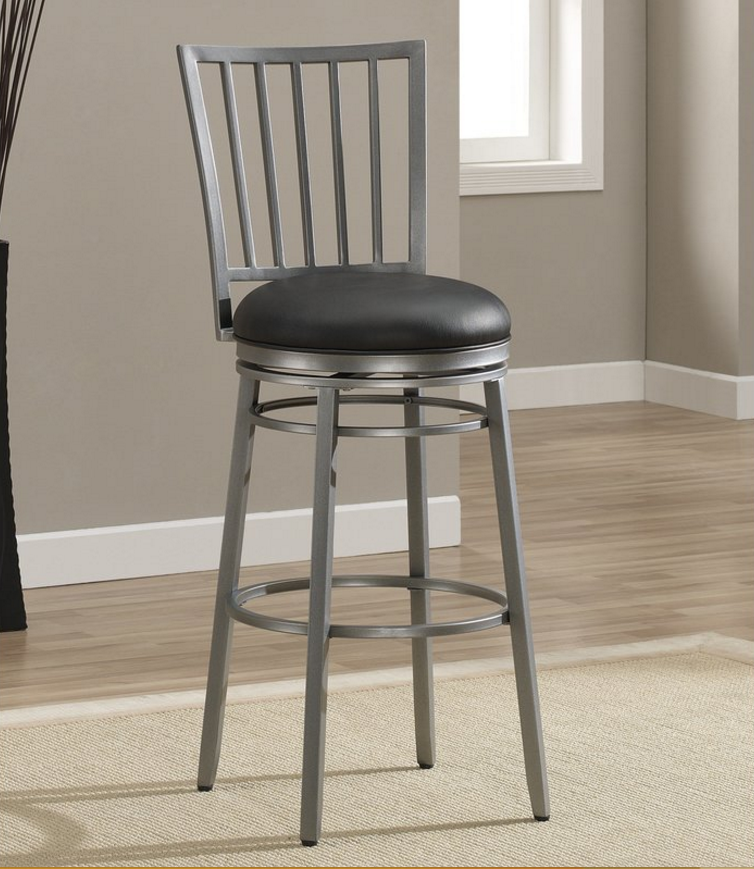 linon cushioned stool p stools bar decor in wash gray home jordan