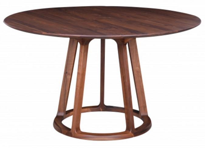 These 6 Pieces Of Colorful Furniture Are Absolute Must Haves: Top 6 Round Walnut Dining Tables In Mid-Century Modern
