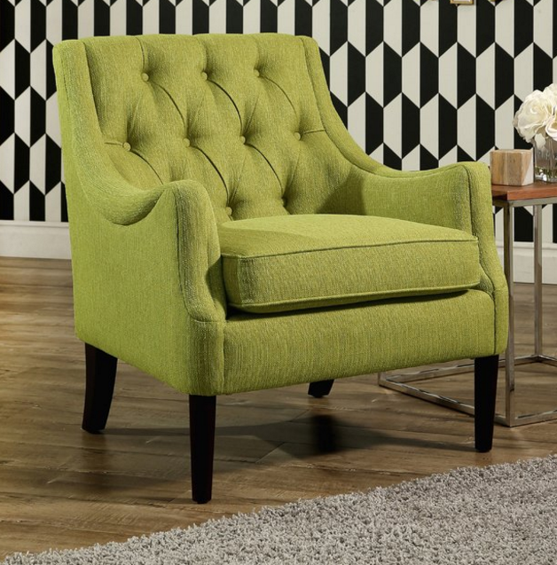 Top 7 Lime Green Accent Chairs For Mid Century Modern