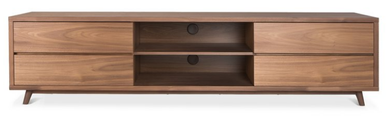 Top 8 Walnut Tv Stands For A Mid Century Modern Home Cute Furniture