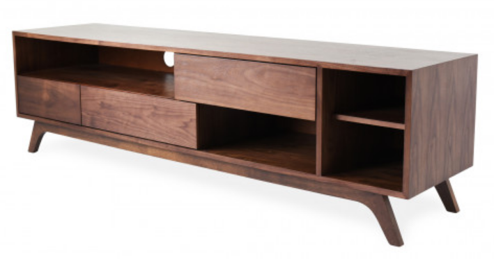 top 8 walnut tv stands for a mid century modern home cute furniture. Black Bedroom Furniture Sets. Home Design Ideas