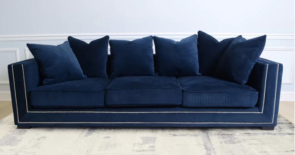 Top 8 Navy Blue Velvet Sofas for Glamorous Home - Cute Furniture