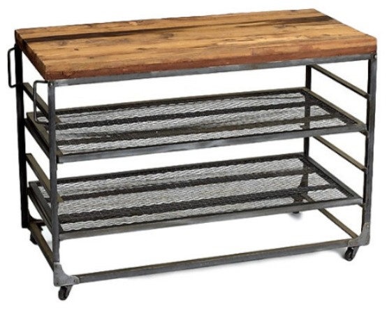 rustic-industrial-portable-kitchen-island
