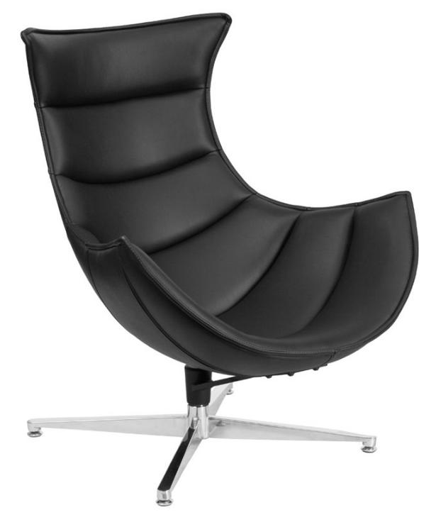 leather-cocoon-chair-in-black