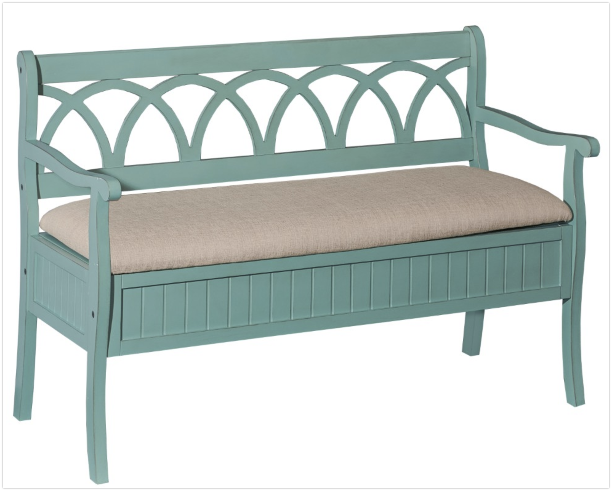 teal-outdoor-bench